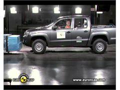 VW Amarok -  Euro NCAP Results 2010