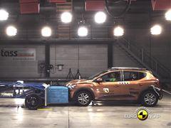 Dacia Sandero Stepway - Euro NCAP 2021 Results - 2 stars