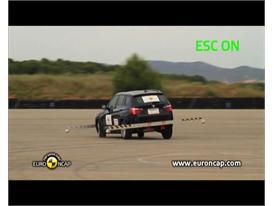 BMW X3– ESC test