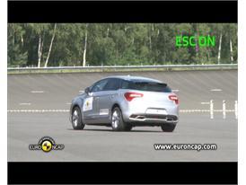 Citroen DS5– ESC test