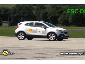 Opel Mokka ESC Tests 2012