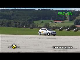 Mercedes Benz A-Class ESC Tests 2012