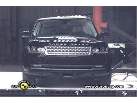 Range Rover Crash Test 2012
