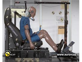 Mercedes Benz A-Class Crash Test 2012