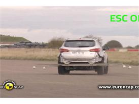 Hyundai Santa Fe ESC Tests 2012