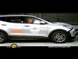 Hyundai Santa Fe Crash Test 2012