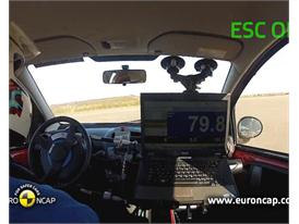 Toyota Aygo - ESC test 2012