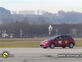 Toyota  Auris - ESC Test 2013