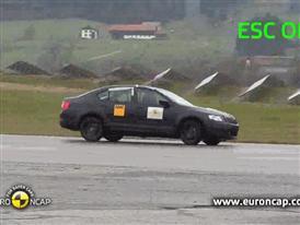 Skoda Octavia - ESC Test 2013