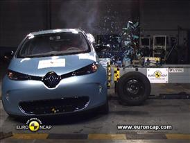 Renault ZOE - Crash Tests 2013