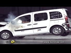 Mercedes Benz Citan - Crash Tests 2013