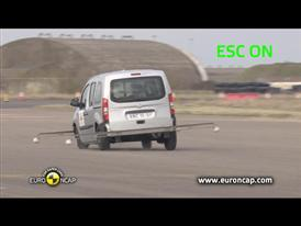 Mercedes Benz Citan - ESC Test 2013