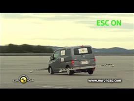 Nissan Evalia - ESC Test 2013