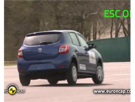 Dacia Sandero - ESC Test 2013
