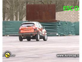 Renault CAPTUR - ESC Test 2013