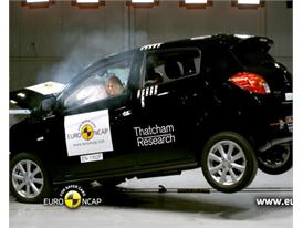 Mitsubishi Space Star/Mirage - Crash Tests 2013