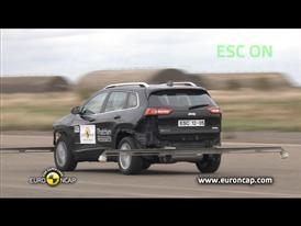 Jeep Cherokee  - ESC Test 2013