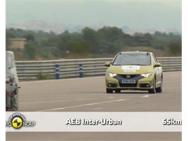 Honda Civic - AEB Tests 2013