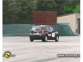 Nissan Note  - ESC Test 2013