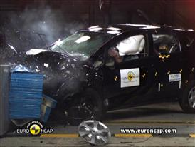 Nissan Note - Crash Tests 2013