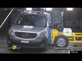 Mercedes-Benz CITAN Kombi reassessment - Crash Tests 2013