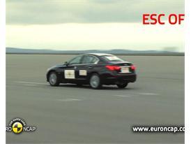 Infiniti Q50  - ESC Test 2013