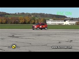 Ford EcoSport  - ESC Test 2013