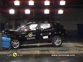 Nissan Qashqai - Crash Tests 2014