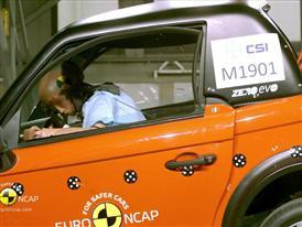 Tazzari ZERO - Crash Tests 2014 - with captions
