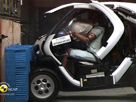 Renault Twizy 80 - Crash Tests 2014