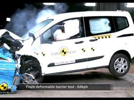 Ford Tourneo Courier - Crash Tests 2014 - with captions