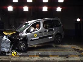 Citroën Berlingo - Crash Tests 2014 - with captions