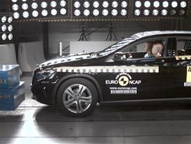 Mercedes-Benz GLA-Class - Crash Tests 2014 - with captions