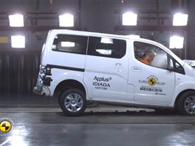 Nissan e-NV200 Evalia - Crash Tests 2014