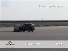 Nissan X-Trail  - AEB  Test 2014
