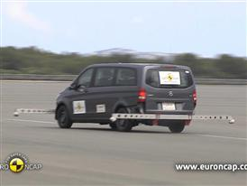 Mercedes-Benz V-Class  - ESC Test 2014