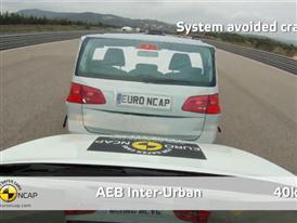 Nissan Pulsar  - AEB Test 2014