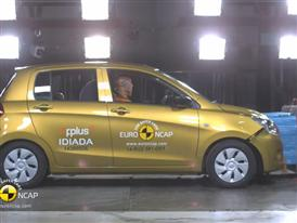 Suzuki Celerio - Crash Tests 2014 - with captions