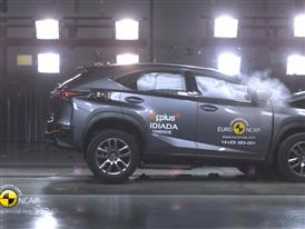 Lexus NX - Crash Tests 2014