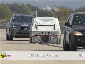 Lexus NX  - AEB Test 2014