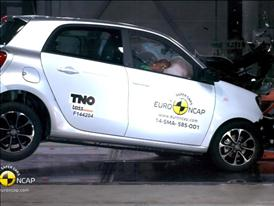 smart forfour - Crash Tests 2014