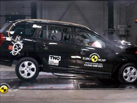 Dacia Logan MCV - Crash Tests 2014