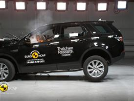 Land Rover Discovery Sport - Crash Tests 2014 - with captions