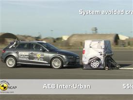 Audi A3 Sportback e-tron  - AEB Test 2014