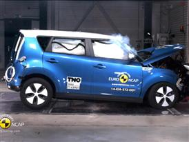 Kia Soul EV - Crash Tests 2014