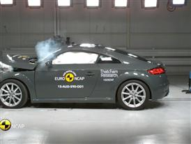 Audi TT - Crash Tests 2015