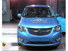 Opel/Vauxhall Karl - Crash Tests 2015