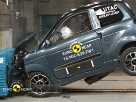 Microcar M.GO Family Crash Test 2016