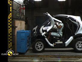 Renault Twizy 80 Crash Test 2014