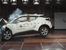 Toyota C-HR - Crash Tests 2017